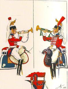 French; 1st Cuirassier Regt, trumpeter 1805-10 & 2nd Cuirassier Regt. Trumpeter