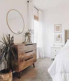 Romantic Bedroom Decor Ideas to Make Your Home More Stylish on a Budget - The Trending House Bedroom Inspo, Home Bedroom, Bedroom Furniture, Bedroom Decor, Furniture Ideas, Adult Bedroom Ideas, Outdoor Furniture, Furniture Makeover, Master Bedroom