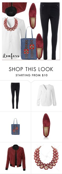 """""""Fall Footwear Trend: Loafers"""" by paculi ❤ liked on Polyvore featuring Brock Collection, LE3NO and loafers"""