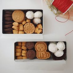 Design Packaging, Branding Design, Asian Recipes, Real Food Recipes, Cute Snacks, Cookie Box, Aesthetic Food, Scones, Biscuits