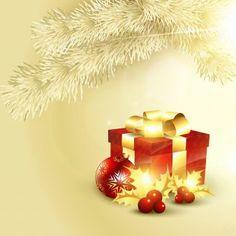Free vector illustration of box with snowflake ball Merry Christmas Celebration theme background Merry Christmas Friends, Christmas Frames, Christmas Gift Box, Christmas Art, Beautiful Christmas, Christmas Holidays, Christmas Stuff, Christmas Ideas, Xmas