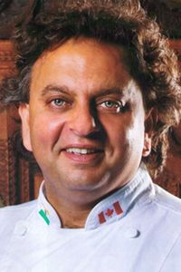 """James Beard Award Winners, Cookbook Authors, """"Iron"""" Chefs, and Indonesia's First Female Executive Chef To Star In New Planes, Trains & Travelng Chefs Series   April 23: Vikram Vij – Vij's (Vancouver BC); Vij is also co-writer of The Flavor Bible: The Essential Guide to Culinary Creativity."""
