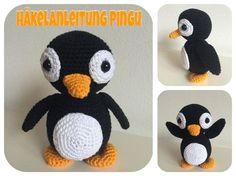 Jetzt gratis einen lieben Pinguin häkeln, das macht Spaß beim Häkeln, beim Spielen + Kuscheln dann natürlich auch. Schnapp Dir die Anleitung jetzt.
