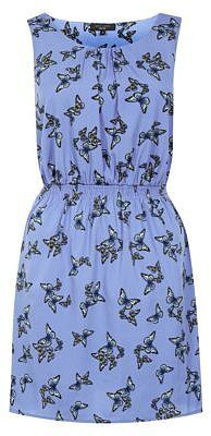 Womens cornflower dress from New Look - £6 at ClothingByColour.com