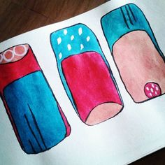 Abstract art.  Red blue white and blush.  By #ronabars #art #illustration #drawing #draw #picture #photography #artist #ronabars #sketch #sketchbook #paper #pen #pencil #artsy #instaart #beautiful #instagood #gallery #abstract #creative #red #blue #art_we_inspire #photooftheday #instaartist #graphic #graphics #artoftheday