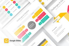 Challenges and Solutions Google Slide Diagrams is a professional Collection shapes design and pre-designed template that you can download and use in your Google Slide. The template contains 11 slides you can easily change colors, themes, text,