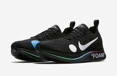 9471b5c4c 2018 Off-White x Nike Zoom Fly Mercurial Flyknit Black Volt-White AO2115-001