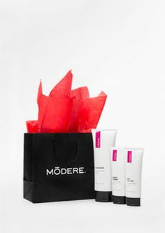 Spa-quality skin products are a staple this holiday season. The Holiday Skin Collection by Modere is the perfect present that will leave the skin looking picture perfect! Order today and receive a complimentary Modere Gift Bag Kit.This Collection includes:    Cleanser Combination Skin 125ml - Gently removes dirt and debris while leaving the skin fresh and energized     Night Cream Combination Skin 50ml - Sustains healthy moisture levels with abundant emollients and natural seed extracts…