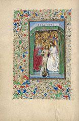 fol. 25V: Throne of Grace