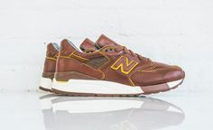 Horween Leathers x New Balance M998DW