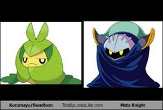 Swadloon Totally Looks Like Meta Knight