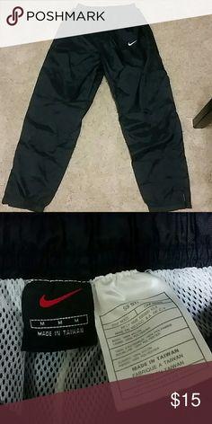 Nike sweats Medium nike swishy sweat pants. Good condition worn once. Nike Pants Track Pants & Joggers