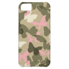 Butterfly Kisses Camouflage iPhone 5 Case