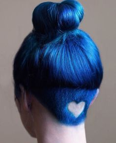This Rainbow Hair Trend Is About To Be Huge #refinery29  http://www.refinery29.com/2016/04/107868/rainbow-hair-undercuts#slide-5  All of the heart-eye emoji. ...