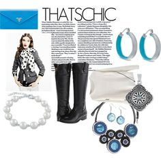 be contemporary #chic this winter with tones of bold blue! #ootd #jewelry #accessories- AZULI SKYE