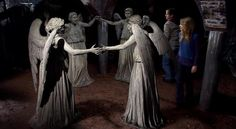 Dr. Who - Weeping Angels - My Favorite Who Villans But they are SOOOO frickin' scary!