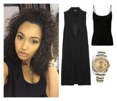 """""""Leigh-Anne Pinnock exact #59"""" by ilikewarmhugsolaf ❤ liked on Polyvore featuring Topshop, Rolex, women's clothing, women, female, woman, misses and juniors"""