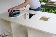 Homemade 3 in 1 Multipurpose Workbench: Table Saw, Router Table and Inverted Jigsaw (Free Plans) : 15 Steps (with Pictures) - Instructables Router Table Plans, Workbench Table, Woodworking Table Saw, Jet Woodworking Tools, Woodworking Jigsaw, Woodworking Store, Woodworking Projects Diy, Circular Saw Table, Best Circular Saw