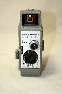 Vintage Bell & Howell One Nine (19) 8mm Movie / Video Camera
