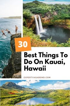 30 Best Things To Do On Kauai: Hawaii's Garden Island! Click here to find out more #Hawaii #Kauai #Travel #UnitedStates #USA Hawaii Vacation, Beach Trip, Kauai Hawaii, Beach Travel, Vacation Rentals, Dream Vacations, Vacation Ideas, Kauai Things To Do, Paradis Tropical