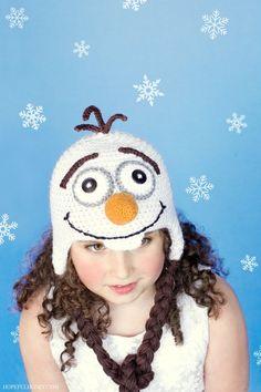 Frozen Snowman Hat