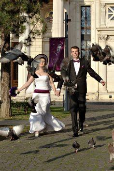weddings run for it
