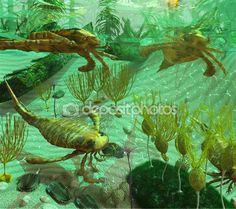 Devonian Sea Scene