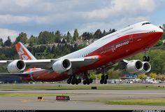 Boeing N6067E Boeing 747-8JK
