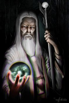 Figures of Middle Earth: Saruman the White, Matthew DeMino