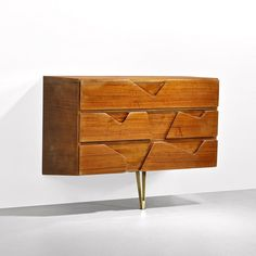 Wall-Mounted Cabinet for Royal Hotel Naples Gio Ponti 1953