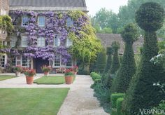 English garden designed by Julian and Isabel Bannerman.