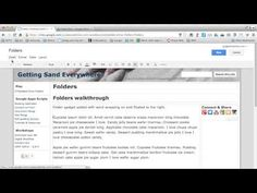 In a Minute: Embed Drive Folder in Google Sites - YouTube