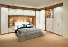 For space saving bedroom design modern fitted furniture for storage - Fitted bedroom wardrobe ideas Fitted Bedroom Furniture, Fitted Bedrooms, Built In Furniture, Corner Furniture, Furniture Direct, Furniture Ideas, Furniture Nyc, Furniture Outlet, Furniture Companies
