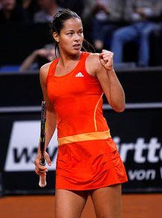 KRÁSNÉ DÍVKY: Tenisové krásky Anna Ivanovičová