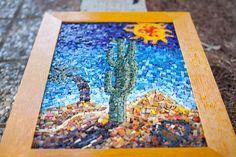 """Mosaic """"Cactus"""""""
