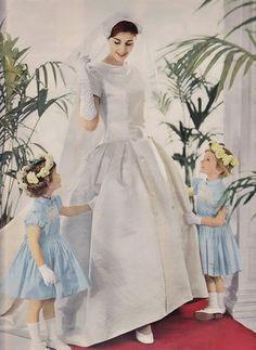 Balmain wedding dress