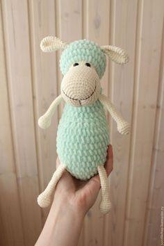 """Игрушки животные, ручной работы. Вязаная игрушка овечка """"Лола"""". Яна Бахнарел. Интернет-магазин Ярмарка Мастеров. Овечка, амигуруми"""