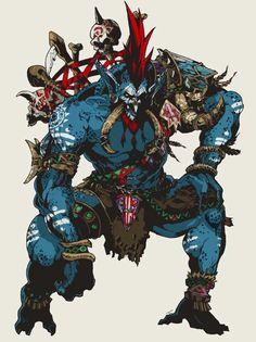 Vol'Jin Darkspear leader, before warchief of the horde World Of Warcraft Game, Warcraft Art, Warcraft Characters, Fantasy Characters, Fantasy Races, Fantasy Warrior, Mythological Creatures, Fantasy Creatures, Troll