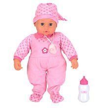 You & Me 18 inch Sweet Dreams Baby Doll by Toys R Us. $31.09. Recommended Age: 3 - 10 years. Take playing Mommy to a whole new level with our You & Me 18 inch Sweet Dreams Baby Doll, exclusively from Toys'R'Us. Your little girl will be captivated with the sounds this lovely baby doll makes. With over 7 functions, it's like having a real baby. Put her bottle (included) or her soother (included) in her mouth and hear her feeding sounds (and her little burp that says she's full). ...