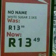 Pick 'n Pay South Africa. This is how dumb they think we are! Really Funny, The Funny, News South Africa, Cool Pictures, Funny Pictures, Morning Wish, Funny Signs, Fun To Be One, Wise Words
