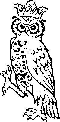 Heraldic clip art owl_supp1