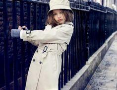 #Burberry #Children -Trench Coat