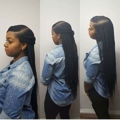 Book appts today Side part box braids - Box Braids Hairstyles Box Braids Hairstyles, Lemonade Braids Hairstyles, My Hairstyle, African Hairstyles, Black Women Hairstyles, Girl Hairstyles, Hairstyles 2018, Braided Hairstyles For Black Hair, Hairstyles Games