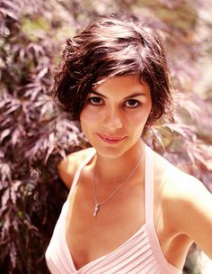 Great hair- Audrey Tautou