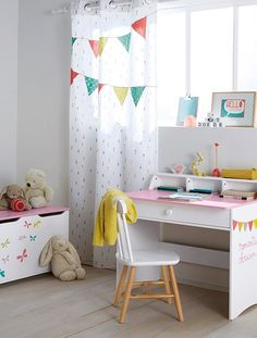 vorhang kinderzimmer auf pinterest kinderzimmer vorh nge und spielzimmer. Black Bedroom Furniture Sets. Home Design Ideas