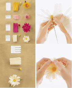 Make Simple Beautiful Paper Flower