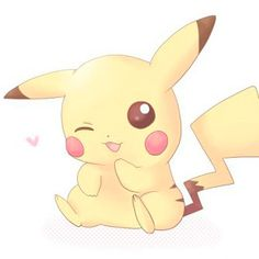 Photo of pikachu! for fans of Pikachu 34502291 Pikachu Kunst, Pikachu Art, Cute Pikachu, Pikachu Tattoo, Pikachu Chibi, Pichu Pikachu Raichu, Cute Animal Drawings, Kawaii Drawings, Cute Drawings