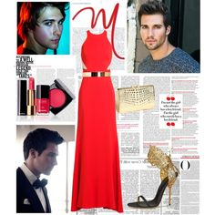 """""""red dress in order to impress"""" by anne-mclayne on Polyvore"""