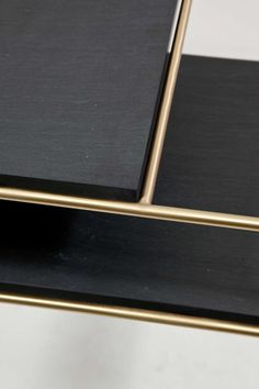 Biron Slate Top Bar Cart, 2014 image 3