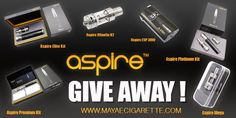Enter to Win over $443 worth of Aspire gear at http://VapingCheap.com